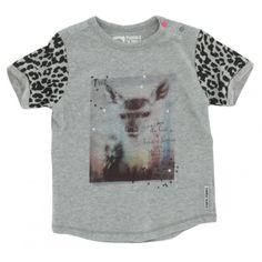 Tumble n Dry baby meisjes t-shirt okay grijs - Schweigmann