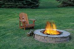 Backyard firepits