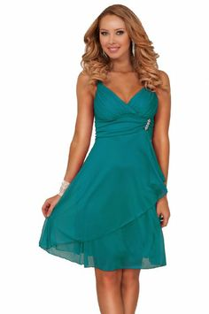 Amazon.com: New Sexy Empire Waist Prom Cocktail Party Evening Dress: Clothing