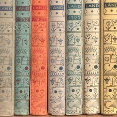Book spines in Munich. Present & Correct.