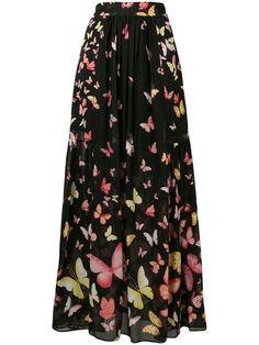 3991524ac Shop Twin-Set butterfly print skirt Beautiful Bugs, Butterfly Print, Printed  Skirts,