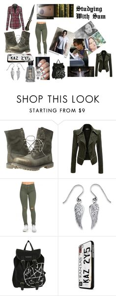 """Studying With Sam"" by lexy-hardwick on Polyvore featuring beauty, SAM, TEN, Timberland and Palm Beach Jewelry"