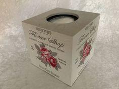 """Shabby Tücher-Box """"Greengate FlowerShop """" - ein Designerstück von GESCHENKE MIT STIL bei DaWanda. Weitere praktische Geschenke, findest Du hier in meinem Online-Shop: www.dawanda.com/shop/GeschenkemitStil"""