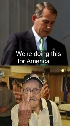 America knows what your doing Boehner and it's never been for America.