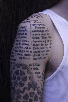 scribblings tattoo