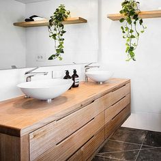 Loving our Styx Mountain Ash vanity featured on @theblock9. Available from the @theblockshop @whelanthewarehouse #ingraindesigns #whitneyandandy #theblock