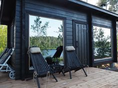 Outdoor Chairs, Outdoor Furniture Sets, Outdoor Decor, Spa Rooms, Boathouse, Cabins In The Woods, Tiny House, Beach House, Lisa