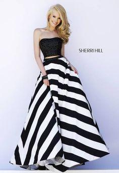 Sherri Hill prom dress #32221 That skirt