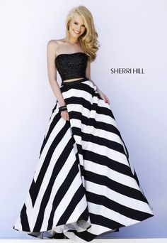 Sherri Hill prom dress #32221 That skirt