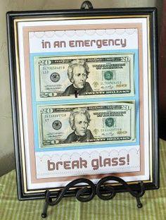 In case of emergency.