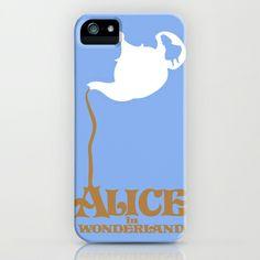 Alice in Wonderland iPhone Case by Citron Vert - $35.00