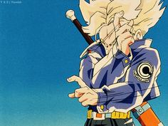 Trunks Super Saiyajin #DBZ