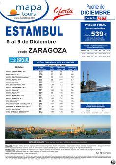 Estambul Puente de Diciembre salida Zaragoza 5 Dic. **Precio Final desde 539** - http://zocotours.com/estambul-puente-de-diciembre-salida-zaragoza-5-dic-precio-final-desde-539/