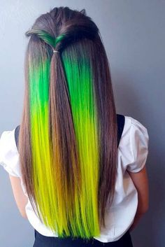 Two Tone Hair Color: 18 Best Two Color Hairstyles Ideas | LadyLife