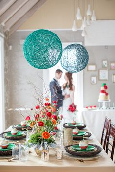 Wizard of Oz wedding inspiration // event design by BLoved Events, photo by Sandy Tam Wedding Designs, Wedding Themes, Wedding Colors, Diy Wedding, Wedding Styles, Wedding Decorations, Table Decorations, Wedding Ideas, Hanging Decorations