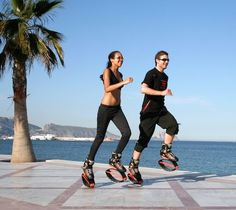 Kangoo Jumps rebound shoes are fun for all ages and sizes!
