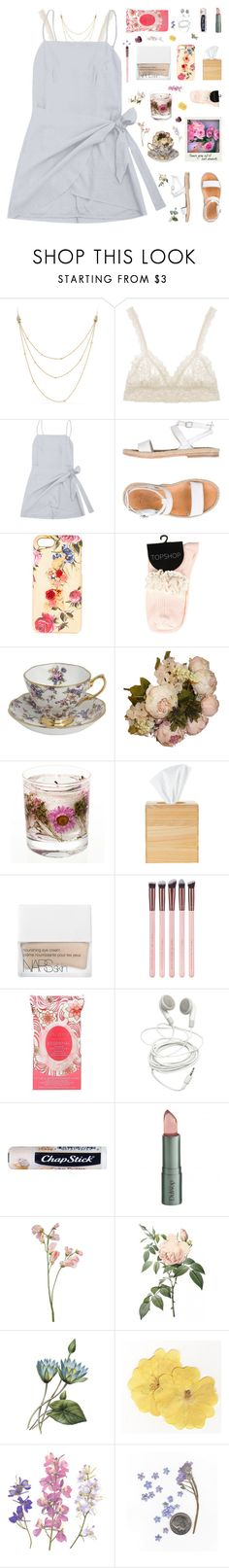 """delaney ♡"" by my-pink-wings ❤ liked on Polyvore featuring David Yurman, Hanky Panky, n.d.c., Dolce&Gabbana, Royal Albert, Puji, NARS Cosmetics, Luxie, Pacifica and Chapstick"