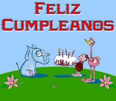 """Desgarga gratis los mejores gifs animados de cumpleaños. Imágenes animadas de cumpleaños y más gifs animados como buenas noches, gracias, nombres o animales"""""""