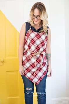 DIY: easy square aprons