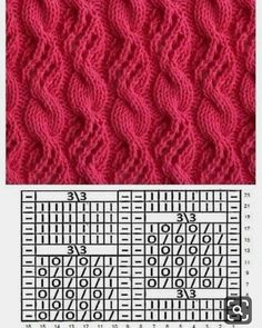Latest Images pretty Knitting Stitches Popular Knitters be aware that if you accept a project, it is recommended to expect youll discover a little something. Cable Knitting Patterns, Knitting Stiches, Knitting Charts, Easy Knitting, Knitting Designs, Crochet Stitches, Lace Patterns, Stitch Patterns, Crochet Patterns