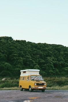 camper van / photo by Rachael Hayes