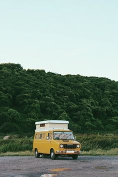 camper van / photo by Rachael Hayes