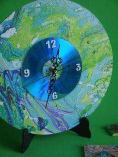 PROYECTO PASO A PASO - Artística MONITOR - Reciclado Express -#decoracion #reciclado #reloj #diseño