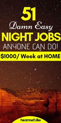 Legit work from home jobs, online jobs, part time work from home jobs, late night jobs to earn extra cash on the side. If you're looking for #workfromhomecareers#workfromhomecompaniesthatpayweekly these 51 #workfromhomecompanieswill help you make $2000 or more every week. #freelancingjobs #remotejobsathome #workathomejobs #workfromjobs #hearmefolks #parttimejobs