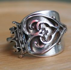 Wrapping spoon rings!