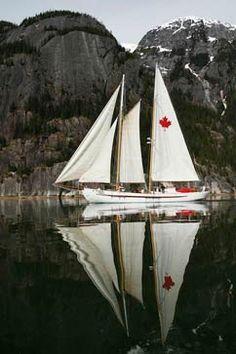 Canadian and Alaskan Sailing Cruises with Maple Leaf Adventures | British Columbia #glamping