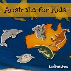 Australia for Kids - Mud Hut Mama