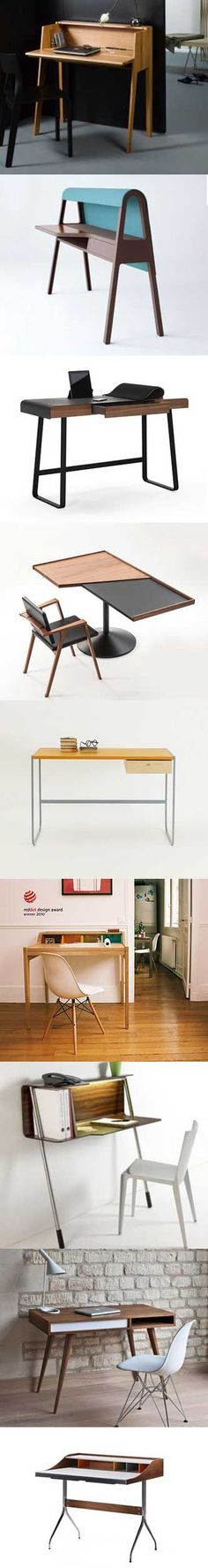 Check this hand-picked collection of desks perfect for use in your home office.