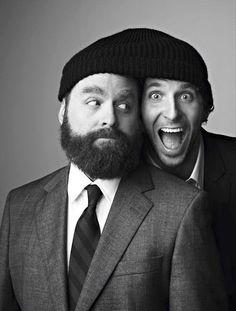two men. one hat. Definitely silly. via Imagina Tu Sitio