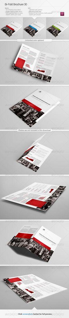 Bi Fold Brochure 30 Specifications 420 297mm 2x