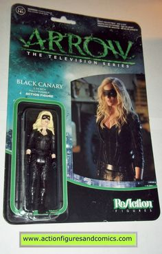 Reaction figures Arrow BLACK CANARY tv show green dc universe funko toys action moc mip mib