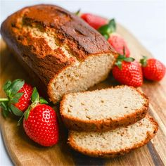 Strawberry Bread by @tikkido - #BestOfFoodPorn Sandwich Sauces, Salad Sandwich, Strawberry Bread, Cheese Dessert, Grain Salad, Bread Appetizers, Quick Bread, Meatloaf, Soups And Stews