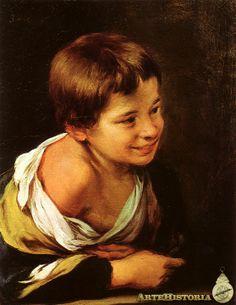 Niño apoyado en un antepecho - Obra - ARTEHISTORIA V2