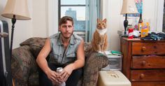 Photographer+David+Williams+captures+men+at+home+with+their+pet+cats. I love all the pictures in this article. Men with cats, so fun.