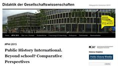 The editors of Public History Weekly are glad to announce an international conference on the state and the challenges of public history and its relation to school. The conference will take place in Basel (Switzerland) on October 2/3, 2015 (from 2 pm Friday to 3 pm Saturday). The conference will be open to the public (except the last session) and will be held in English.