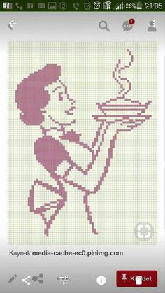 Cross Stitch Kitchen, Pearler Beads, Filet Crochet, Plastic Canvas, Embroidery Stitches, Ukraine, Cross Stitch Patterns, Free Pattern, Crafty