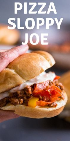 Sloppy joes are meaty, saucy and fun!    This recipe has the flavor a pepperoni pizza which makes it fun and extra delicious!