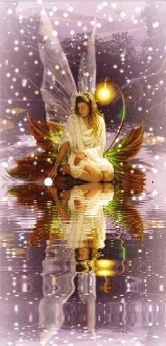 GIF,  animated reflections | FAIRY FAIRIES ANGELS ANGEL MYSTICAL GRAPHICS ANIMATED REFLECTION ...