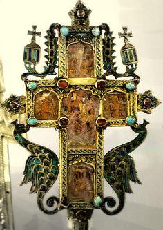 Russian Orthodox cross, Victoria and Albert Museum, Serbian 1630-1700