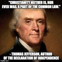 Thomas Jefferson. We need him NOW