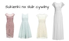 Sukienka na ślub cywilny - TOP 20   fitandfashion.pl