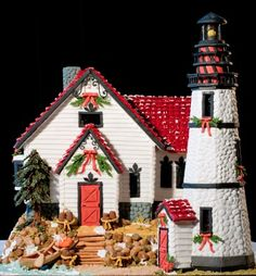 gingerbread house gallery | Gingerbread House Competition - Holidash News