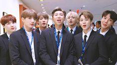 #BTSxUnitedNations #BTSForYouth2030 Seokjin, Namjoon, Rapmon, Taehyung, Jimin, Bts Bangtan Boy, Bts Boys, Jung Hoseok, Kpop