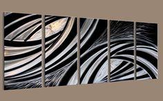 $185.00 modern metal wall art