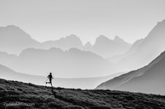 B&W Sport photography | Piotr Dymus Photography #TrailRunning