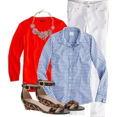 Wearing 4/10/2015 by my4boys on Polyvore featuring J.Crew and American Eagle Outfitters